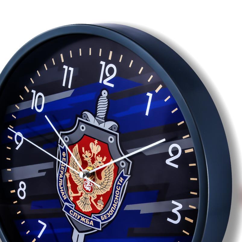 Настенные часы «Федеральная служба безопасности» купить в Военпро