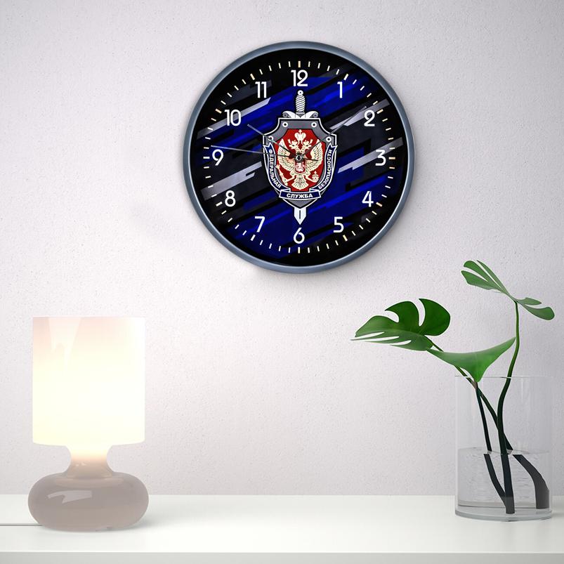 Настенные часы «Федеральная служба безопасности» заказать в Военпро