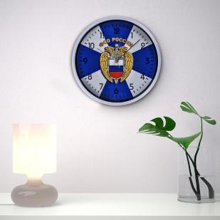 Настенные часы ФСО России заказать в Военпро