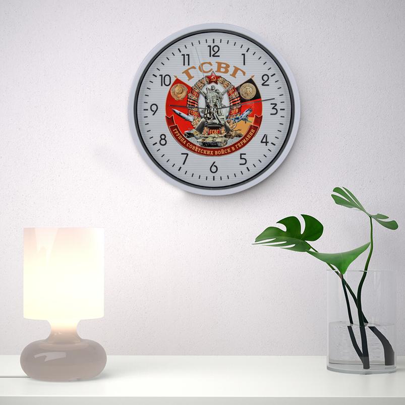 Настенные часы Группа Советских войск в Германии заказать в Военпро