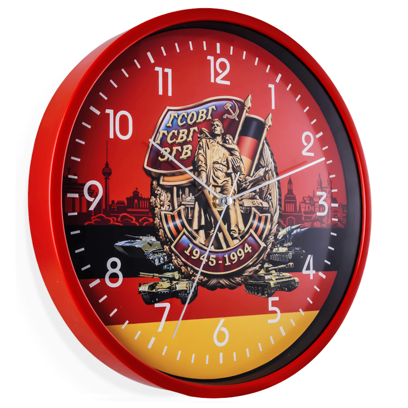 Настенные часы ГСВГ. 1945-1994