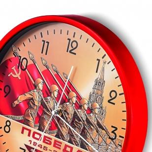 Настенные часы к 75-летию Победы «1945-2020» купить в Военпро
