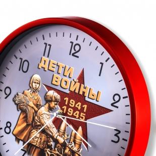 Настенные часы к 75-летию Победы «Дети войны» купить в Военпро