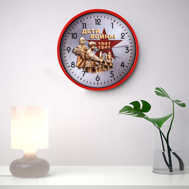 Настенные часы к 75-летию Победы «Дети войны» заказать в Военпро