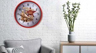 Настенные часы к 75-летию Победы «Дети войны»