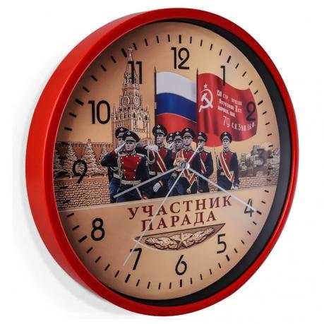 Настенные часы к юбилею Победы Участник парада