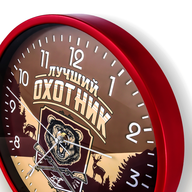 Настенные часы «Лучший охотник» купить в Военпро