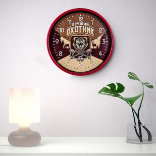 Настенные часы «Лучший охотник» заказать в Военпро
