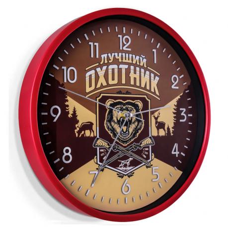 Настенные часы для рыбаков и охотников в Туле