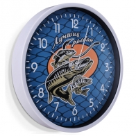 Настенные часы Лучший рыбак