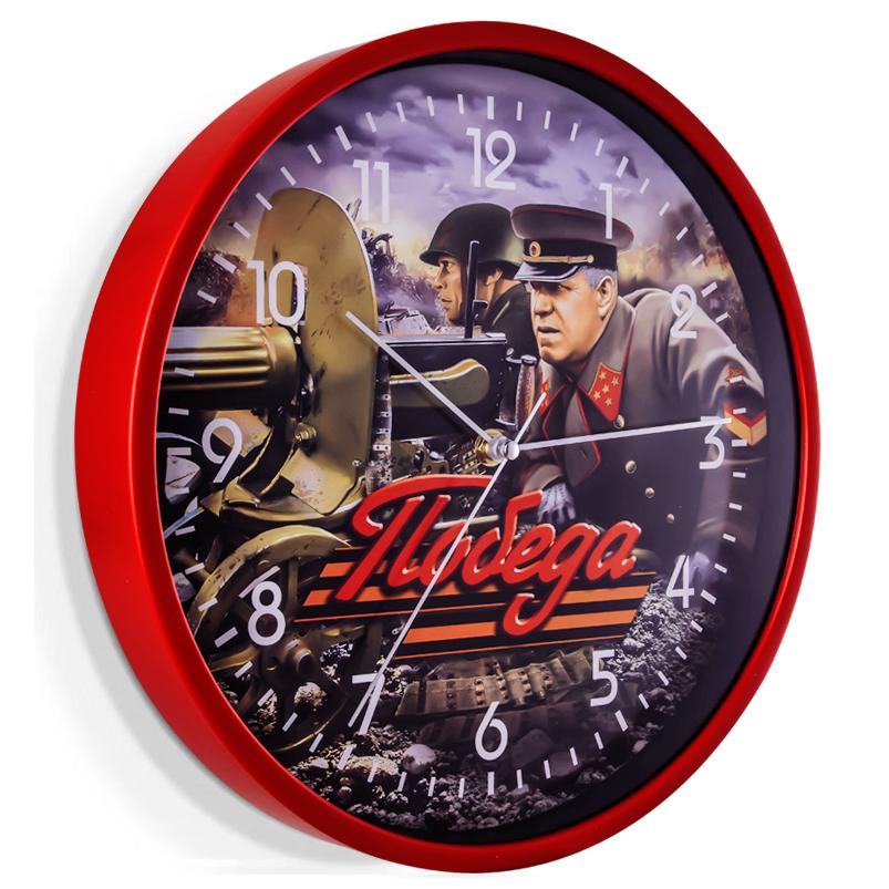 Настенные часы Победа с маршалом Жуковым
