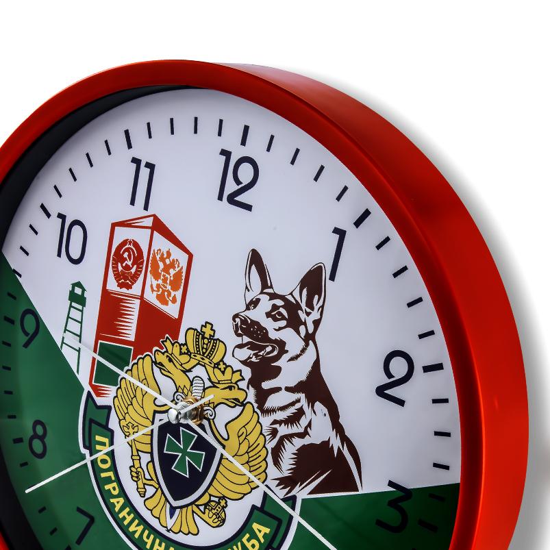 Настенные часы «Пограничная служба»