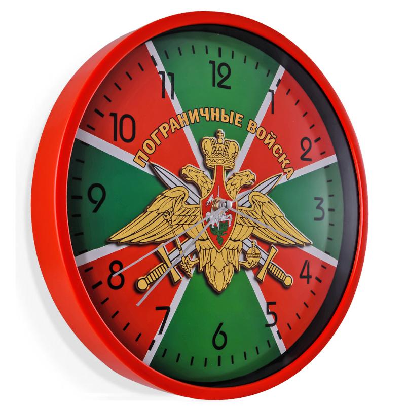 Настенные часы Пограничные войска с гербом