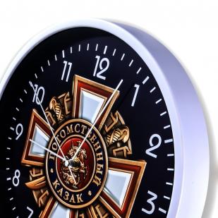Настенные часы «Потомственный казак» купить в Военпро