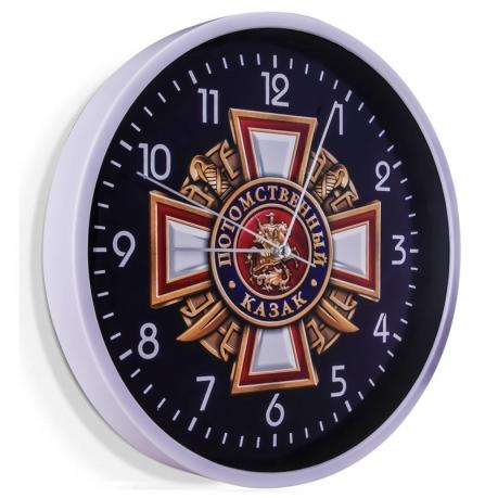 Настенные часы Потомственный казак