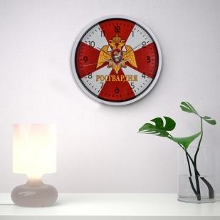Настенные часы Росгвардия заказать в Военпро