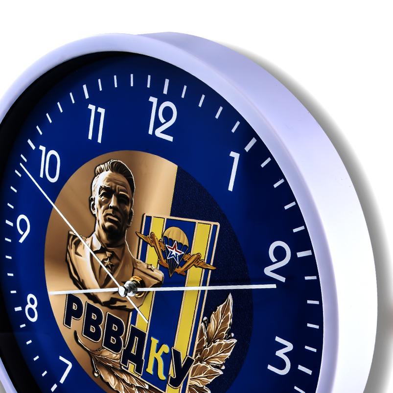 Настенные часы «РВВДКУ ВДВ» купить в Военпро