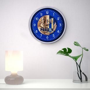 Настенные часы «РВВДКУ ВДВ» заказать в Военпро