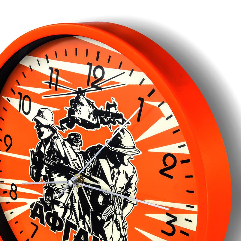 """Настенные часы с принтом """"Афган"""" купить в Военпро"""