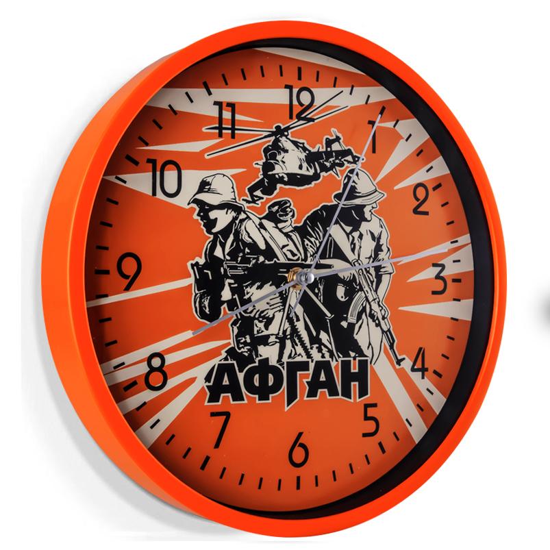 Настенные часы с принтом Афган