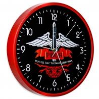 Настенные часы с принтом РВСН