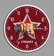 Настенные часы с символикой Спецназа Росгвардии
