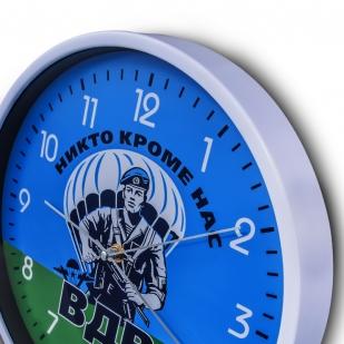 Настенные часы с символикой ВДВ купить в Военпро