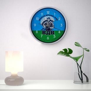 Настенные часы с символикой ВДВ заказать в Военпро