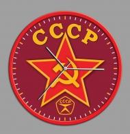 Настенные часы с советской символикой