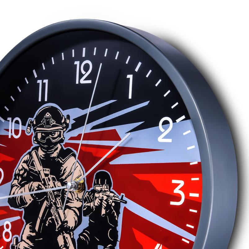 Настенные часы «Спецназ» купить в Военпро