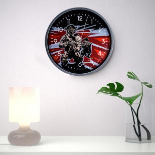 Настенные часы «Спецназ» заказать в Военпро