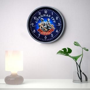 Настенные часы «Спецназ ГРУ» заказать в Военпро