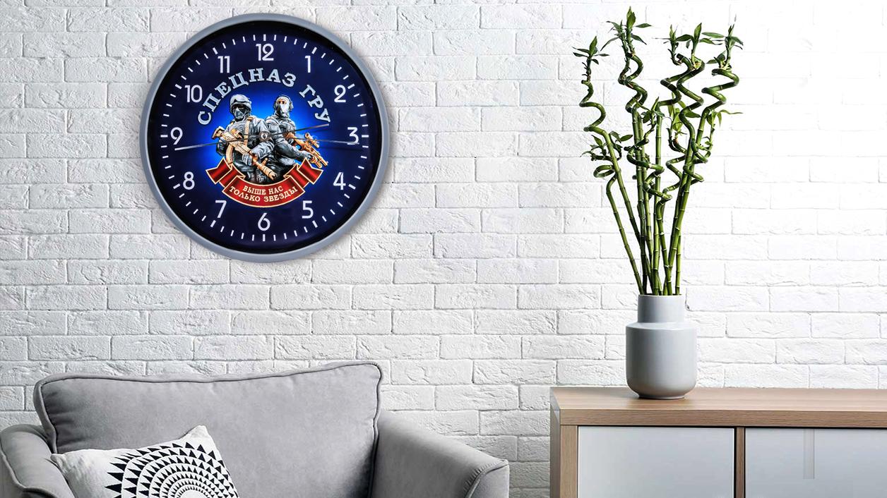 Настенные часы «Спецназ ГРУ»