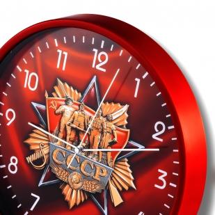 Настенные часы «СССР» купить в Военпро