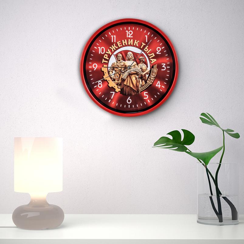 Настенные часы «Труженик тыла» к юбилею Победы