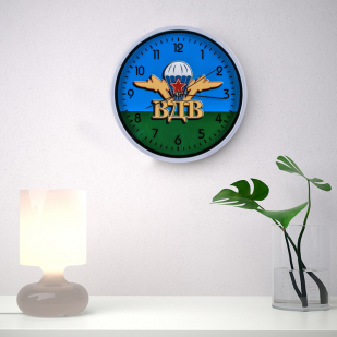 Настенные часы «ВДВ» заказать в Военпро