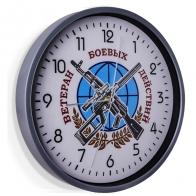 Настенные часы Ветеран боевых действий