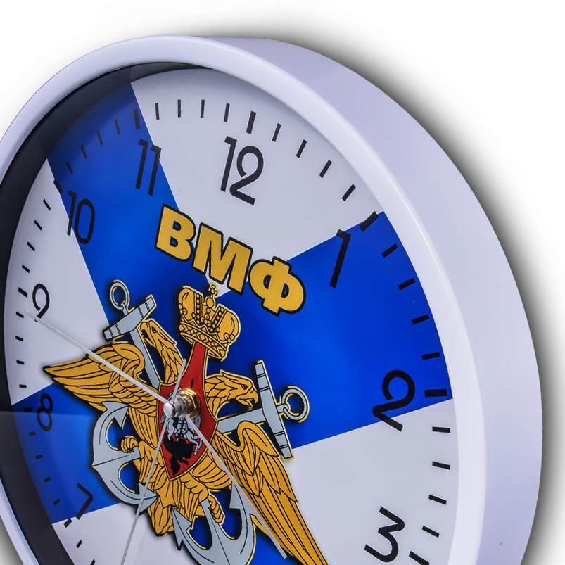 Настенные часы ВМФ купить в Военпро