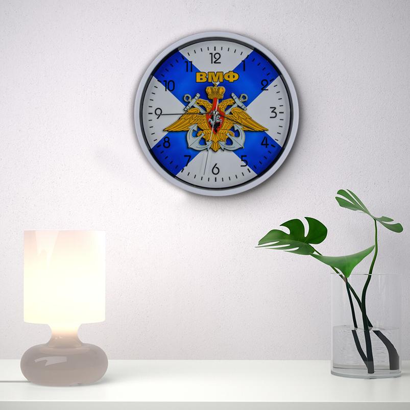 Настенные часы ВМФ заказать в Военпро