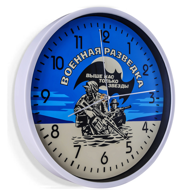 Настенные часы Военная разведка