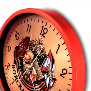 Настенные часы «Войска связи» купить в Военпро
