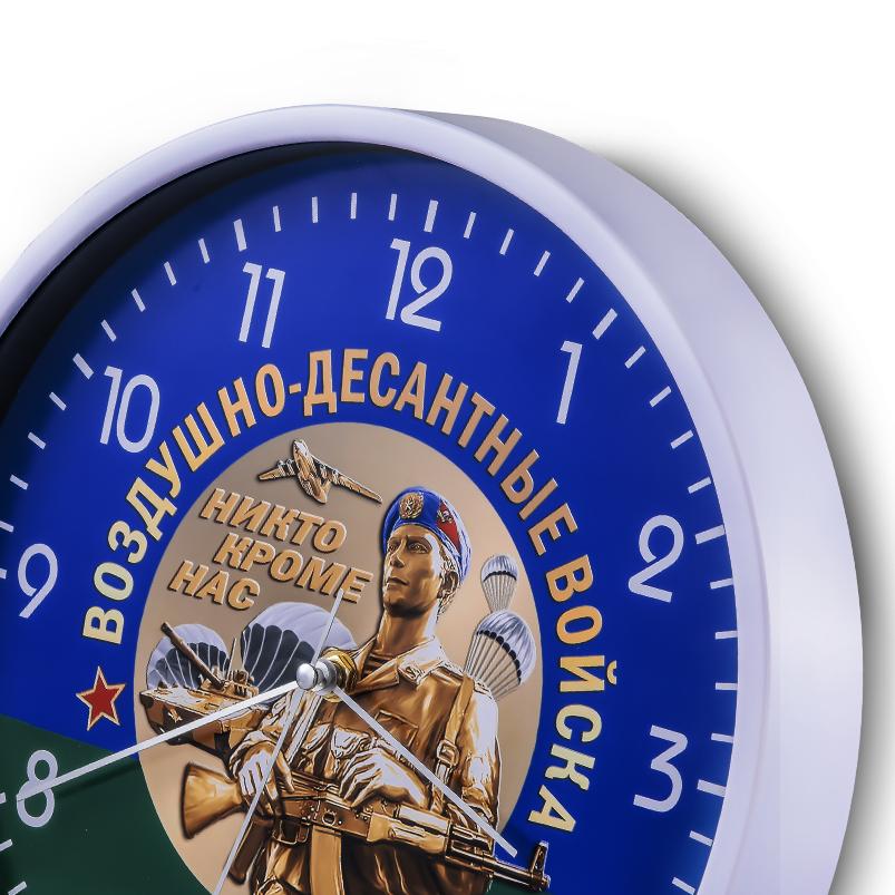 Настенные часы «Воздушно-десантные войска» купить в Военпро