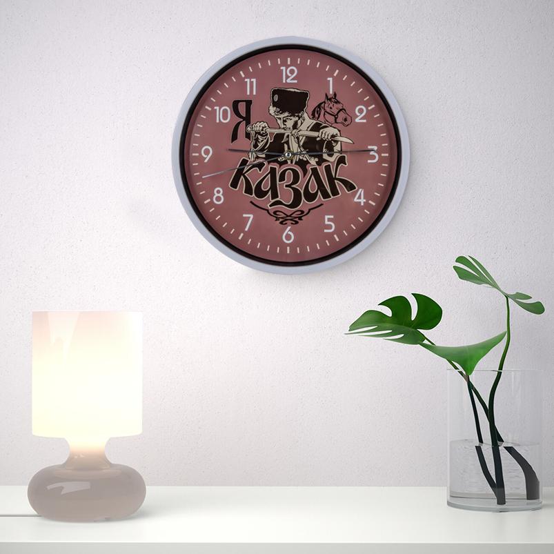 Настенные часы «Я казак» заказать в Военпро