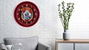 Настенные часы «За Родину! За Сталина!»