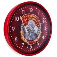 Настенные часы За Родину! За Сталина!
