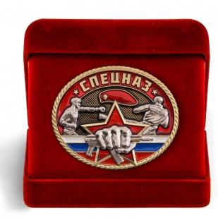 Настольная медаль Спецназ в футляре