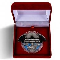 Настольная медаль Военная разведка в футляре