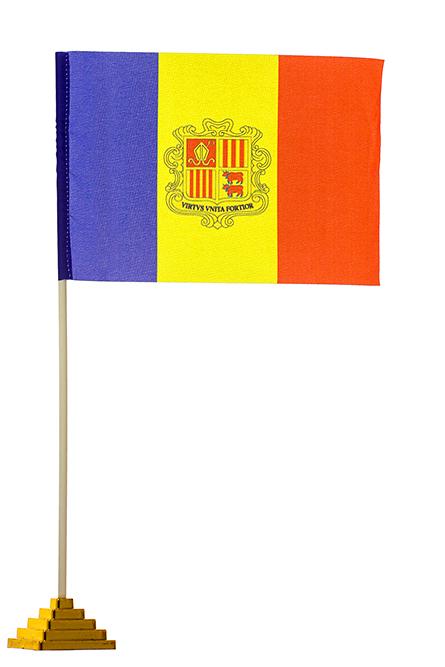 Настольный флаг Андорры
