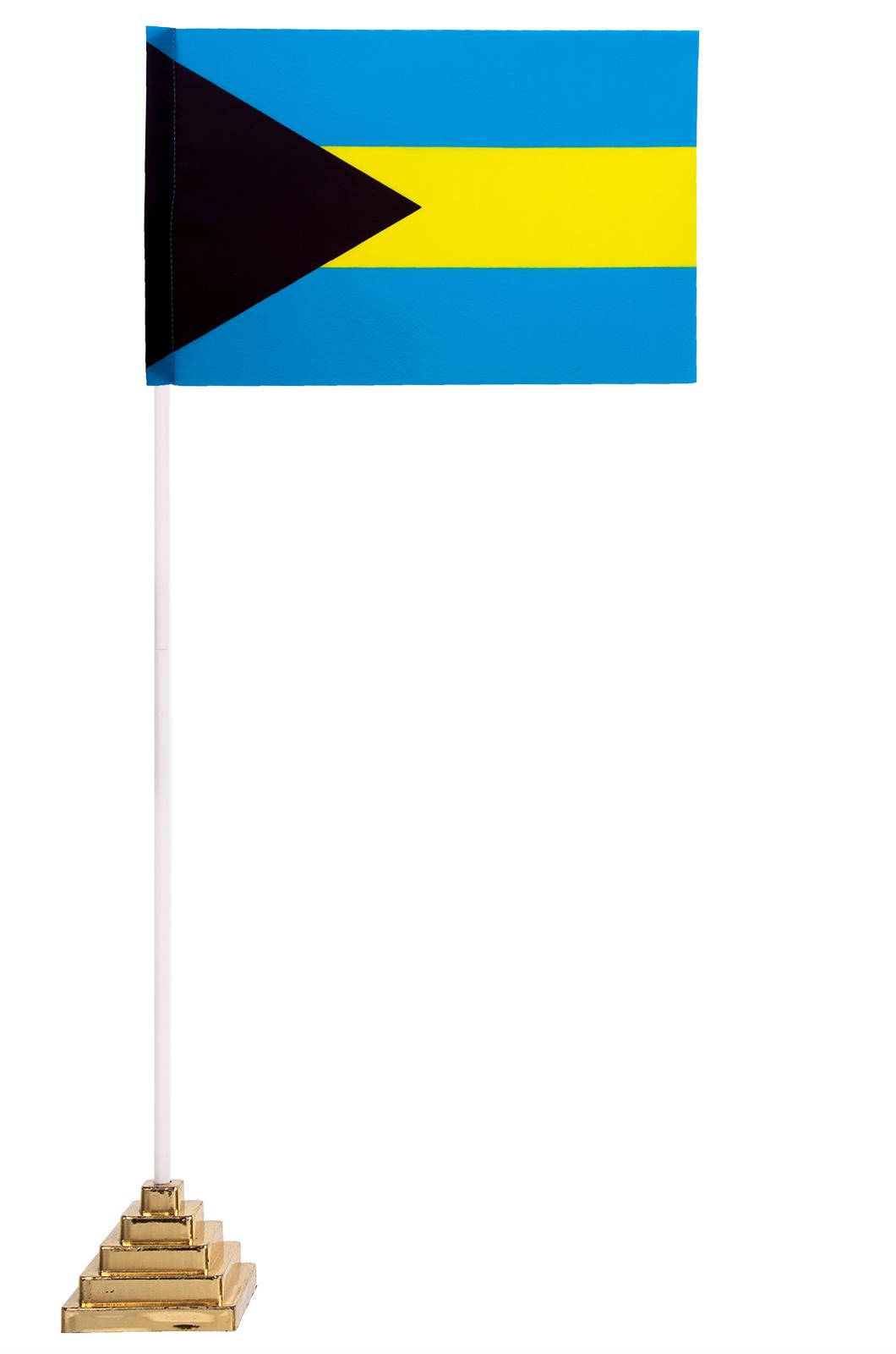 Настольный флаг Багамских островов