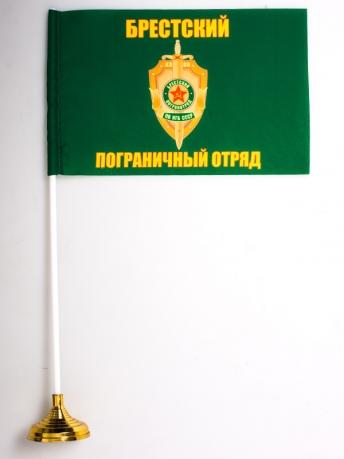 Настольный флаг Брестский погранотряд